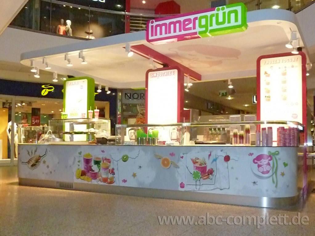 Ansicht des Geschäfts: Immergrün, Filialen lt. Referenzliste, deutschlandweit, Foto 5