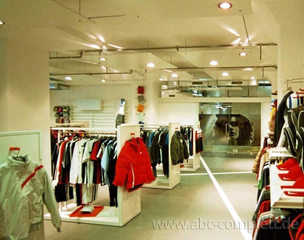 Ansicht des Geschäfts: Nike Showroom bei Universal Music, Design by Nike, Berlin / Friedrichshain, Foto 2