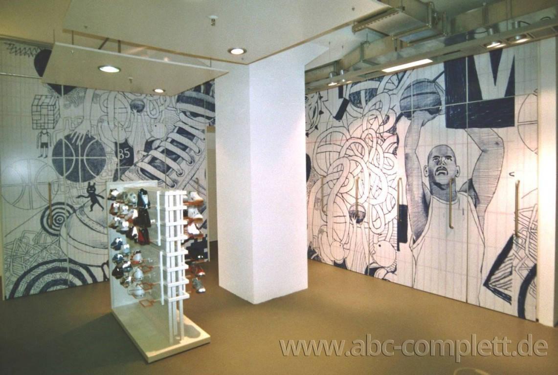 Ansicht des Geschäfts: Nike Showroom bei Universal Music, Design by Nike, Berlin / Friedrichshain, Foto 5