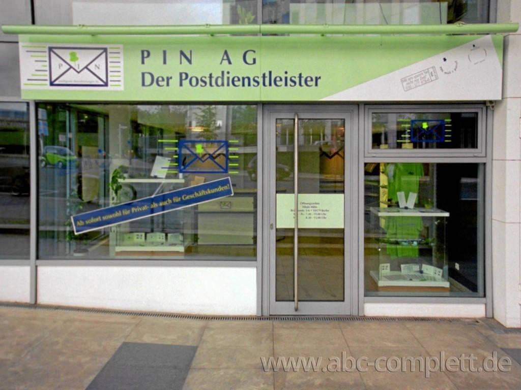 Ansicht des Geschäfts: PIN AG Postshop, 19 Shops (in Shop) lt. Referenzliste, deutschlandweit, Foto 1