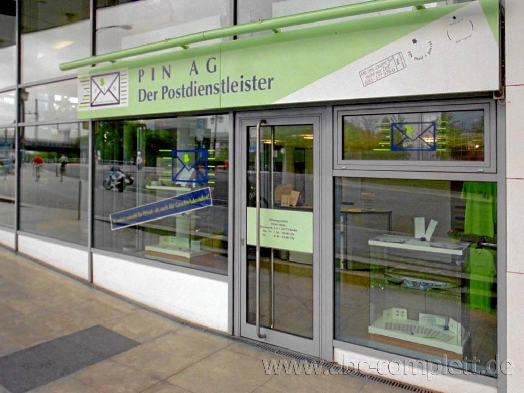 Ansicht des Geschäfts: PIN AG Postshop, 19 Shops (in Shop) lt. Referenzliste, deutschlandweit, Foto 2
