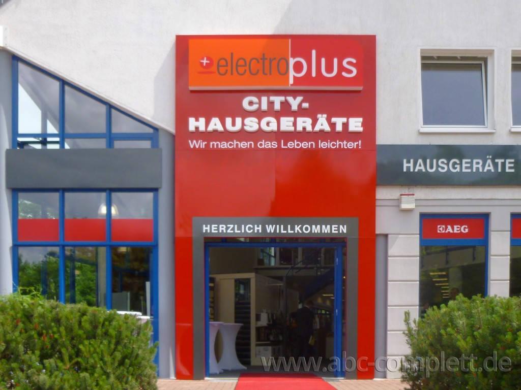 Ansicht des Geschäfts: elektroplus, Hausgeräte, Hohen Neuendorf, Foto 1
