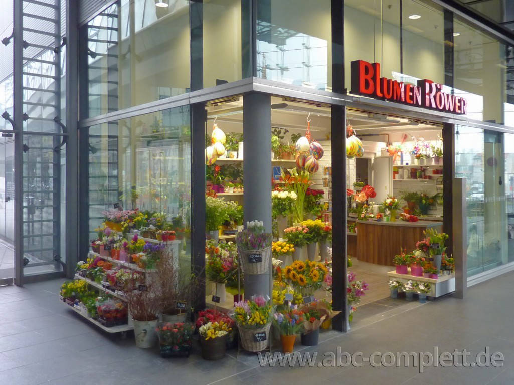 Ansicht des Geschäfts: Blumen Röwer, Hauptbahnhof, Berlin / Mitte, Foto 1