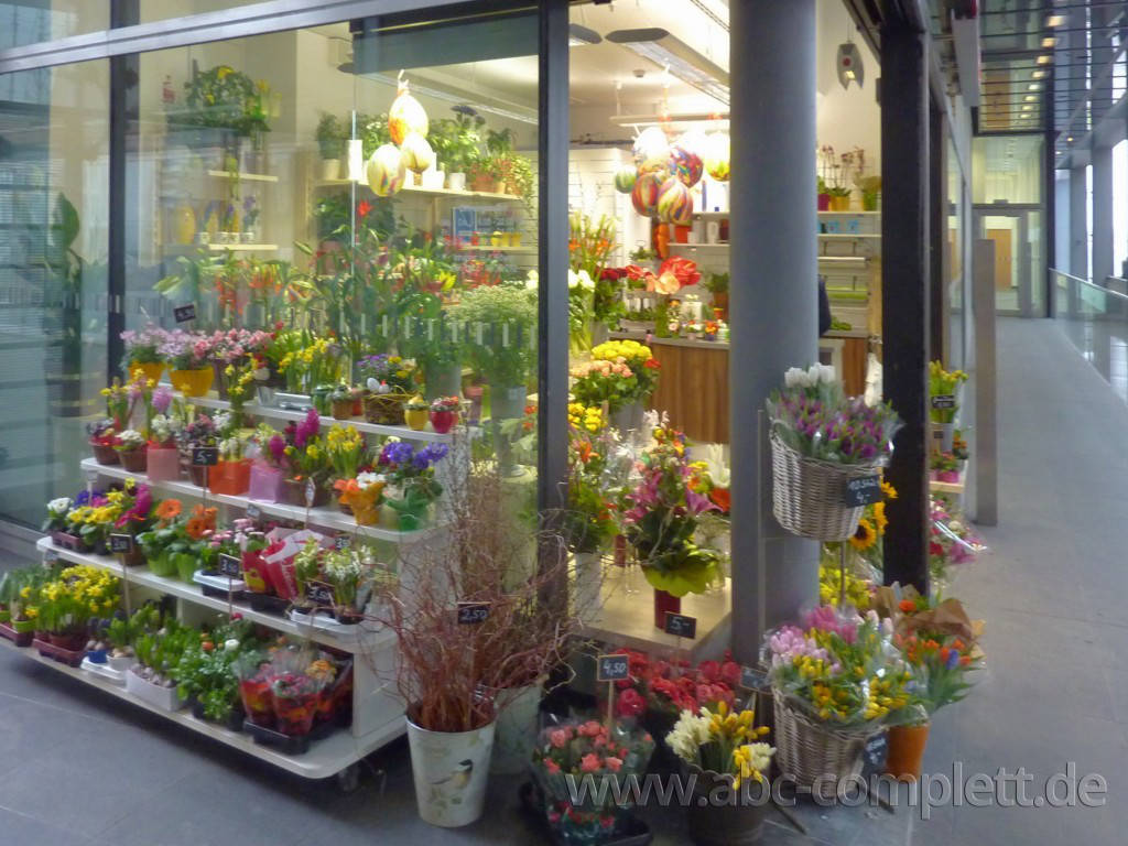 Ansicht des Geschäfts: Blumen Röwer, Hauptbahnhof, Berlin / Mitte, Foto 5