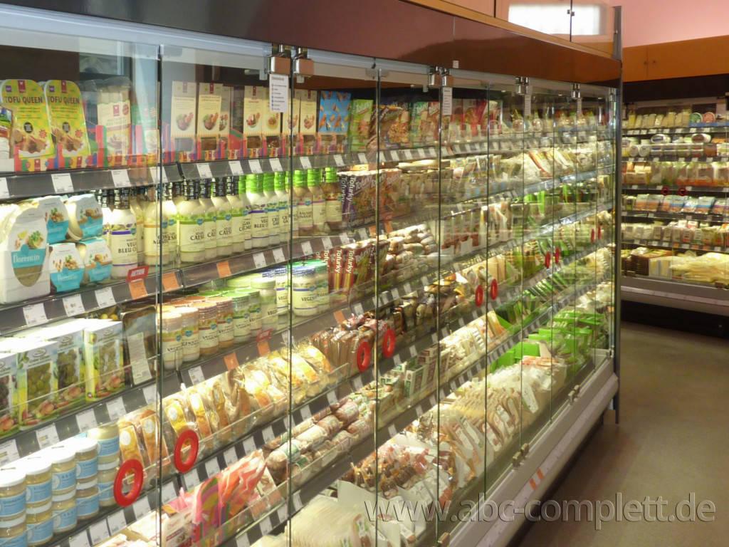 Ansicht des Geschäfts: Veganz wir lieben leben, veganer Supermarkt, Wien, nahe Naschmarkt, Foto 10