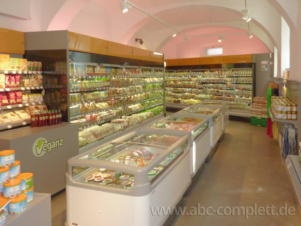 Ansicht des Geschäfts: Veganz wir lieben leben, veganer Supermarkt, Wien, nahe Naschmarkt, Foto 12