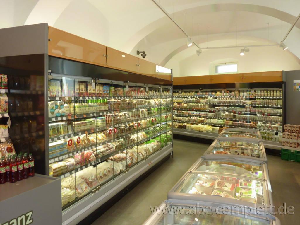 Ansicht des Geschäfts: Veganz wir lieben leben, veganer Supermarkt, Wien, nahe Naschmarkt, Foto 3