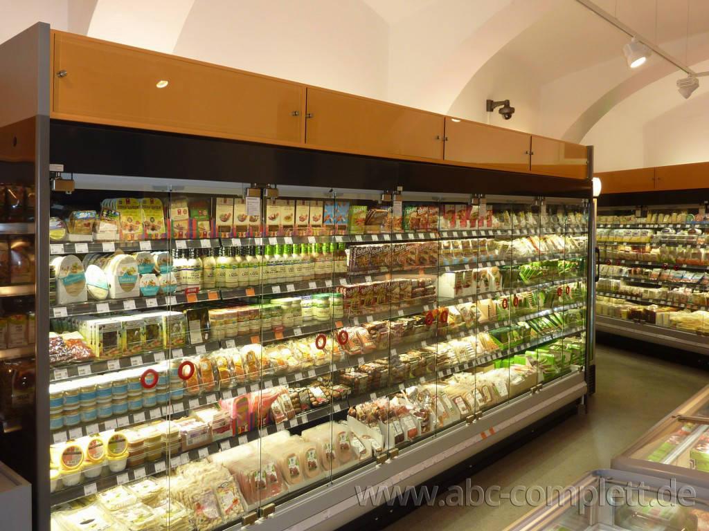 Ansicht des Geschäfts: Veganz wir lieben leben, veganer Supermarkt, Wien, nahe Naschmarkt, Foto 6