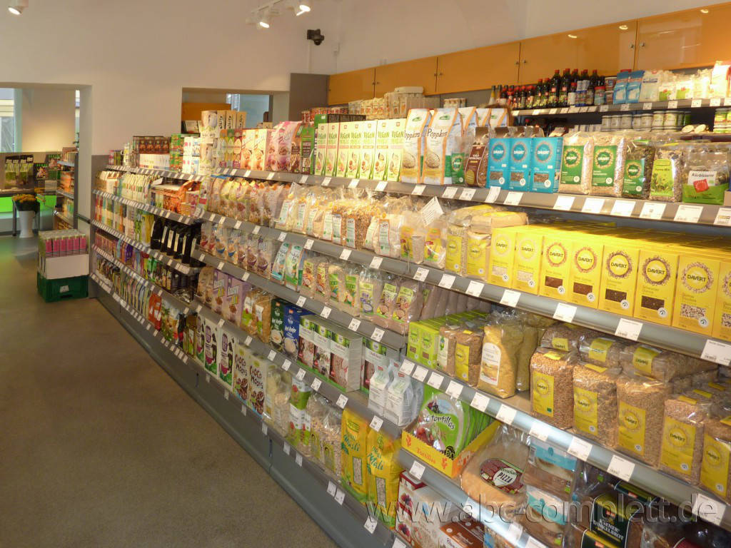 Ansicht des Geschäfts: Veganz wir lieben leben, veganer Supermarkt, Wien, nahe Naschmarkt, Foto 7