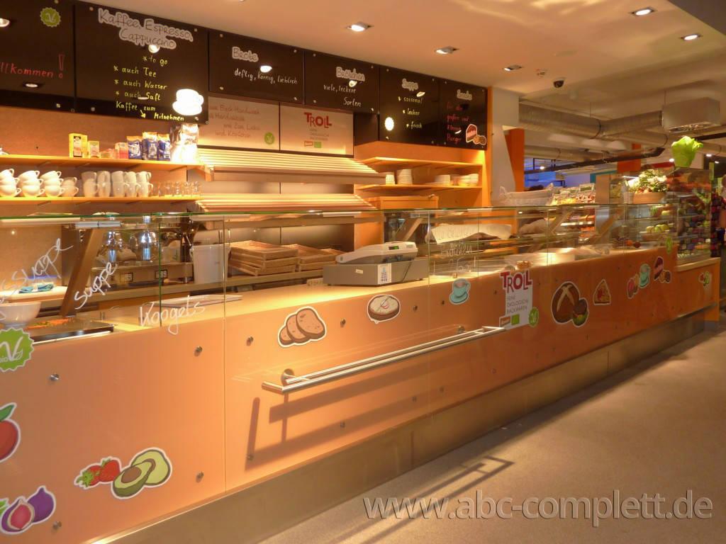Ansicht des Geschäfts: Veganz wir lieben leben, veganer Supermarkt, Essen / Grüne Mitte, Foto 10
