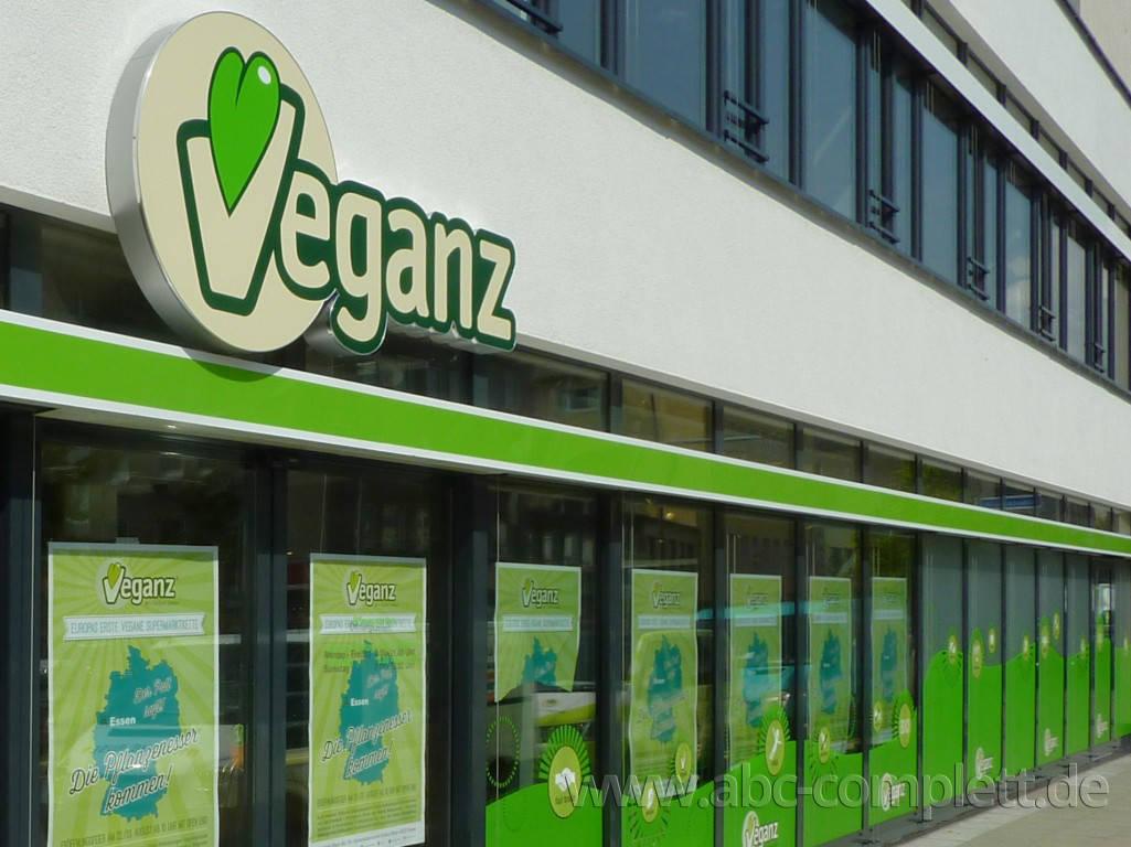 Ansicht des Geschäfts: Veganz wir lieben leben, veganer Supermarkt, Essen / Grüne Mitte, Foto 1