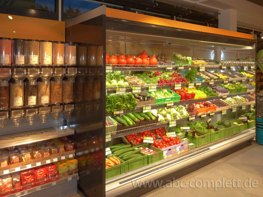 Ansicht des Geschäfts: Veganz wir lieben leben, veganer Supermarkt, Essen / Grüne Mitte, Foto 5