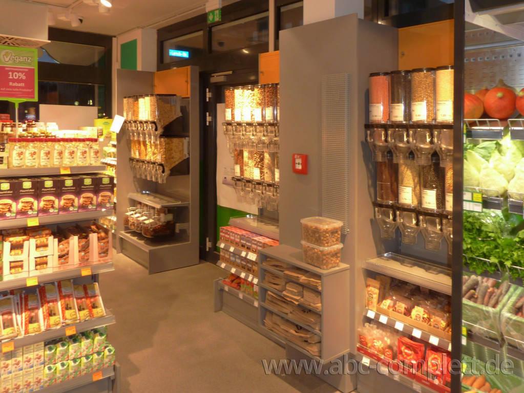 Ansicht des Geschäfts: Veganz wir lieben leben, veganer Supermarkt, Essen / Grüne Mitte, Foto 6