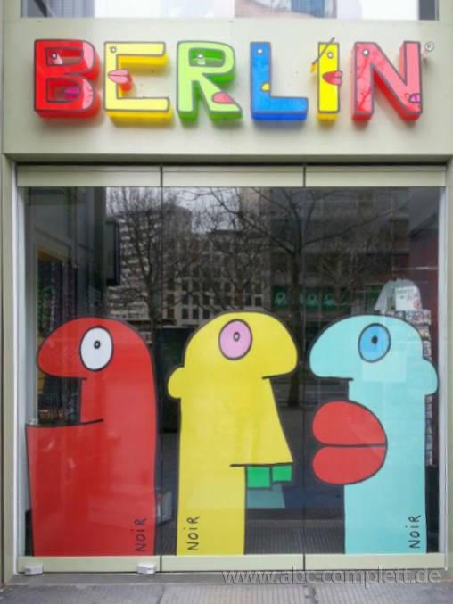 Ansicht des Geschäfts: Berlin Souvenirs, Kurfürstendamm, Berlin / Wilmersdorf, Foto 1