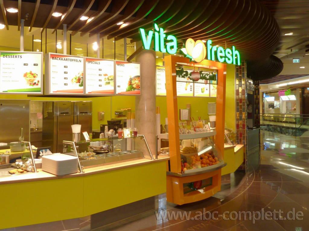 Ansicht des Geschäfts: Vita Fresh, Mall Of Berlin / Leipziger Platz 12, Berlin / Mitte, Foto 2