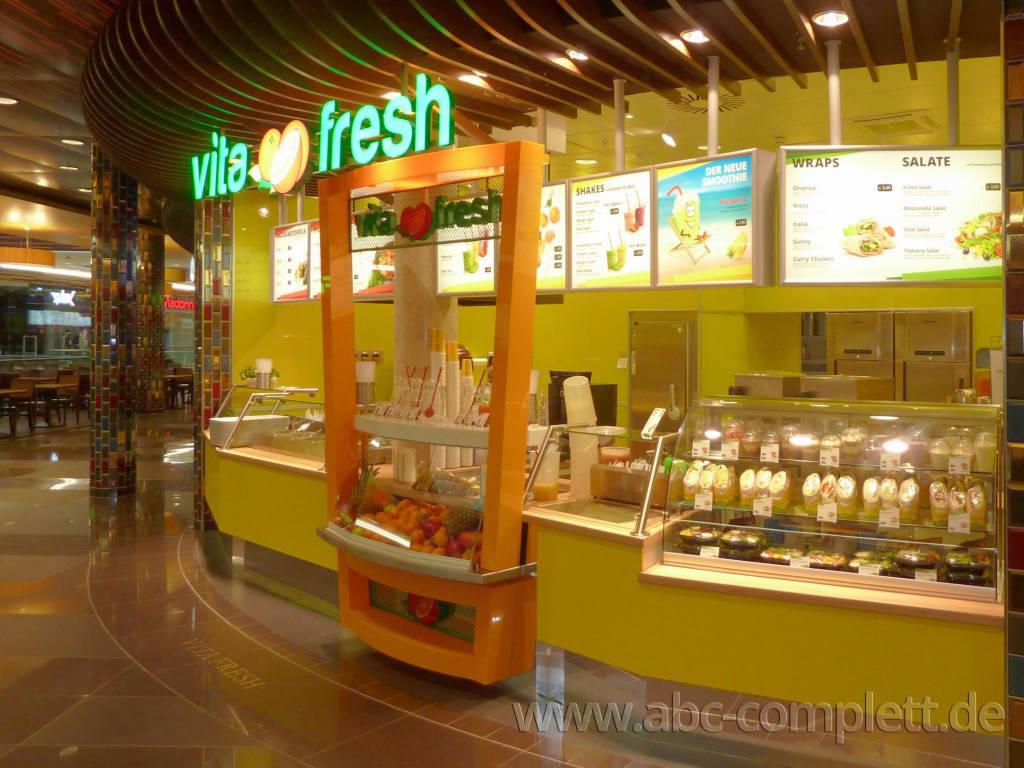 Ansicht des Geschäfts: Vita Fresh, Mall Of Berlin / Leipziger Platz 12, Berlin / Mitte, Foto 5