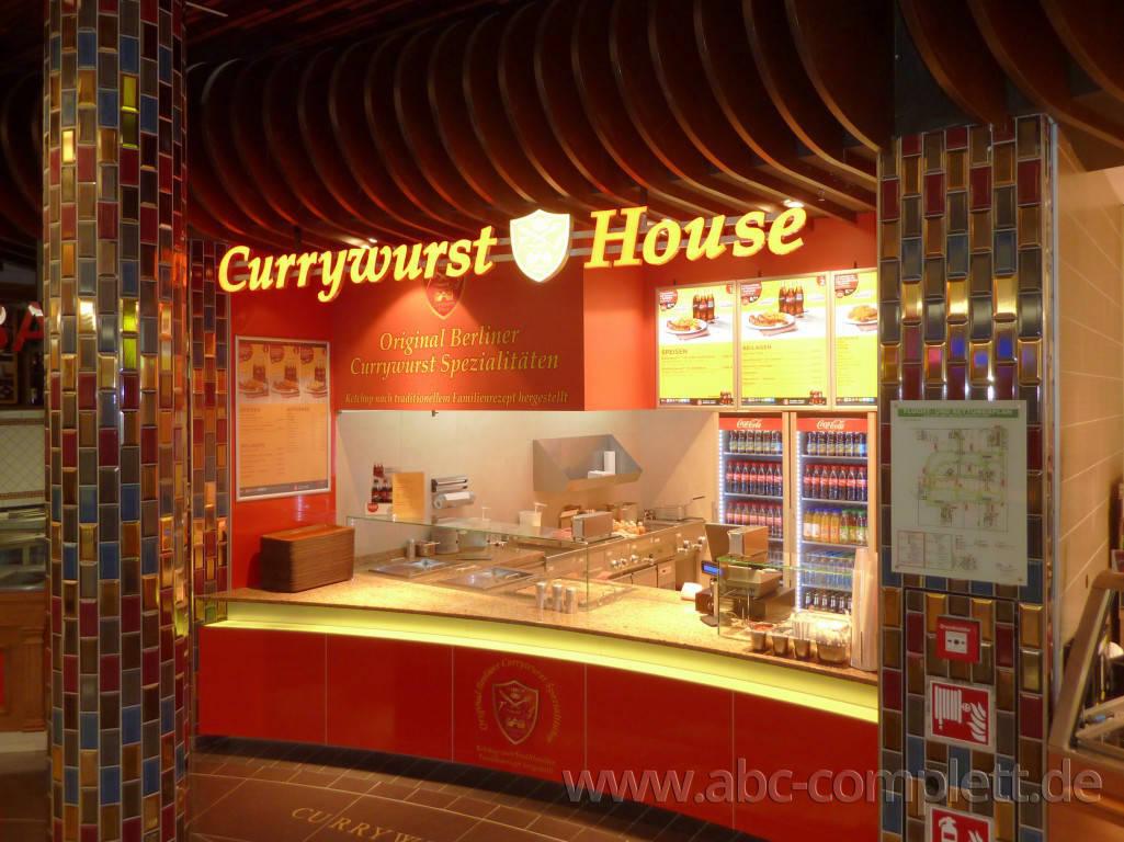 Ansicht des Geschäfts: Currywurst House, Mall Of Berlin / Leipziger Platz 12, Berlin / Mitte, Foto 3