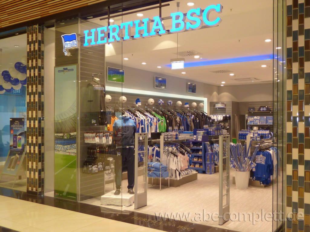 Ansicht des Geschäfts: Hertha BSC Fanshop, Mall Of Berlin / Leipziger Platz 12, Berlin / Mitte, Foto 1