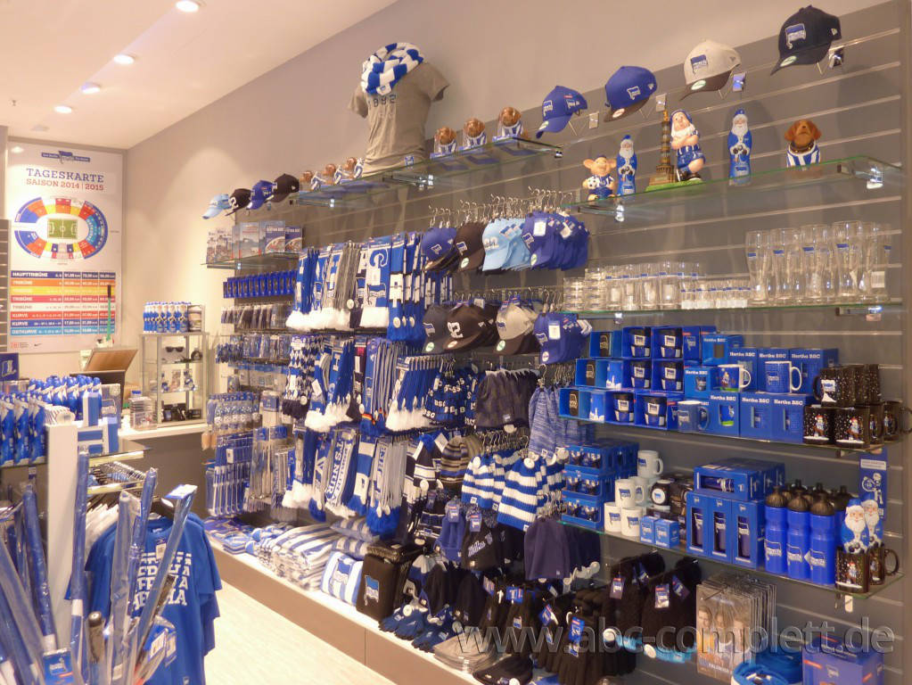 Ansicht des Geschäfts: Hertha BSC Fanshop, Mall Of Berlin / Leipziger Platz 12, Berlin / Mitte, Foto 5