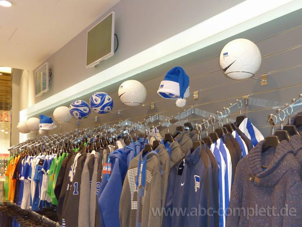 Ansicht des Geschäfts: Hertha BSC Fanshop, Mall Of Berlin / Leipziger Platz 12, Berlin / Mitte, Foto 7