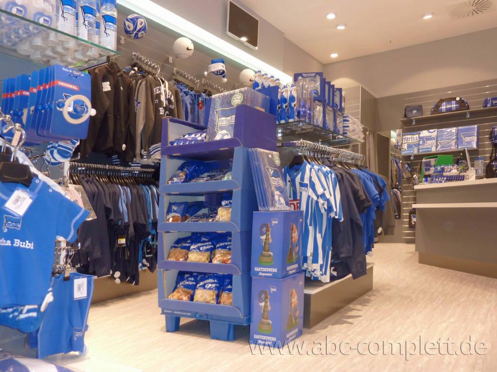 Ansicht des Geschäfts: Hertha BSC Fanshop, Mall Of Berlin / Leipziger Platz 12, Berlin / Mitte, Foto 8