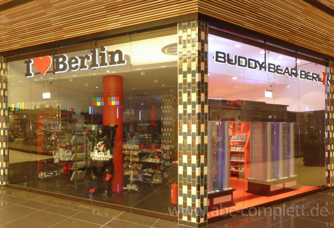 Ansicht des Geschäfts: Berlin Souvenirs, Mall Of Berlin / Leipziger Platz 12, Berlin / Mitte, Foto 1