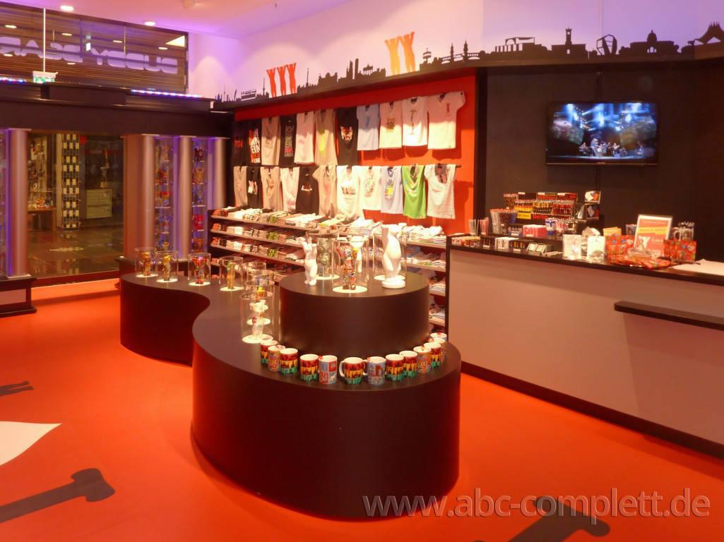 Ansicht des Geschäfts: Berlin Souvenirs, Mall Of Berlin / Leipziger Platz 12, Berlin / Mitte, Foto 3