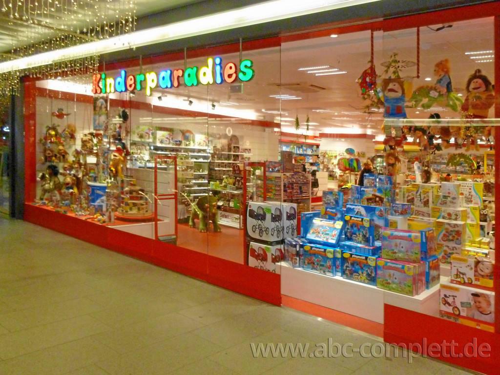 Ansicht des Geschäfts: Kinderparadies, Hallen am Borsigturm, Berlin / Reinickendorf, Foto 1