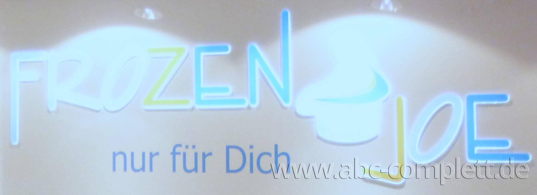 Ansicht des Geschäfts: Frozen Joe, Frozen Yogurt in Selbstbedienung, Wildau / A 10 Center, Foto 3