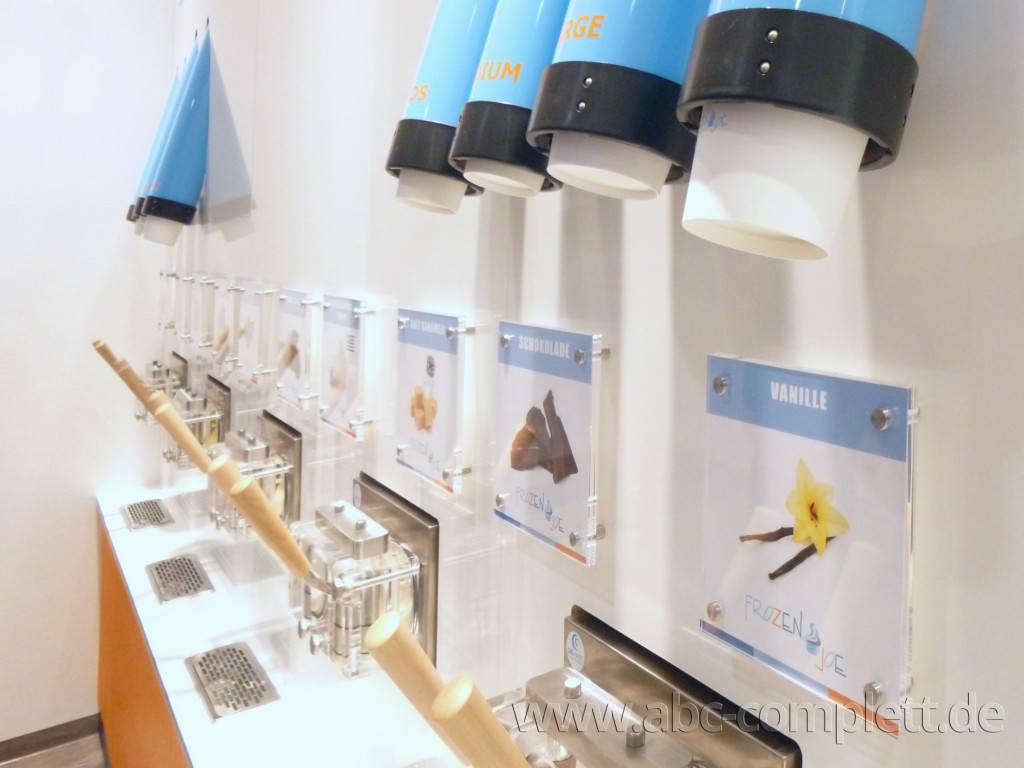 Ansicht des Geschäfts: Frozen Joe, Frozen Yogurt in Selbstbedienung, Wildau / A 10 Center, Foto 5