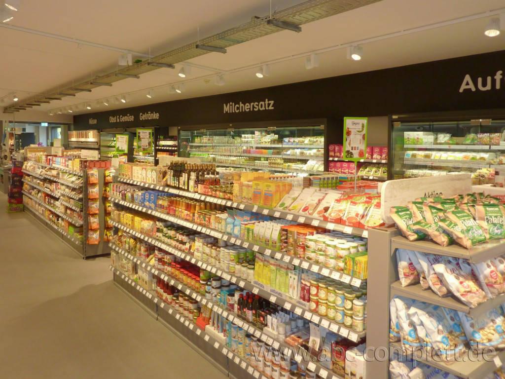 Ansicht des Geschäfts: Veganz wir lieben leben, veganer Supermarkt, Berlin / Marheineke Markthalle, Foto 6