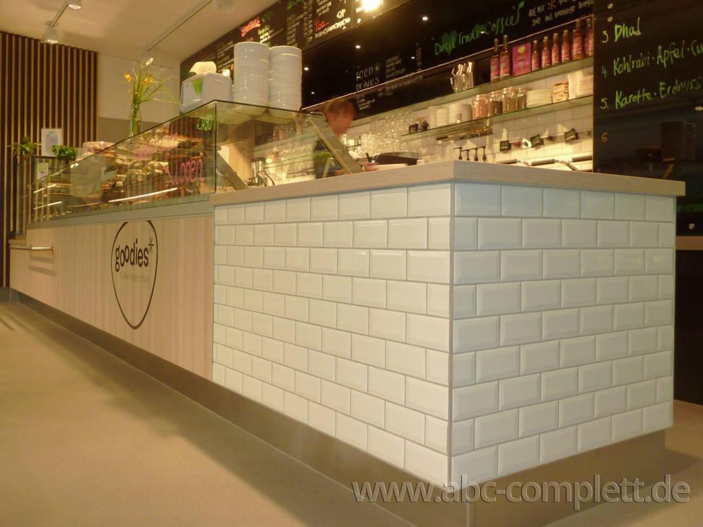 Ansicht des Geschäfts: Goodies* im Veganz, * Coffee & healthy food, Berlin / Marheineke Markthalle, Foto 4
