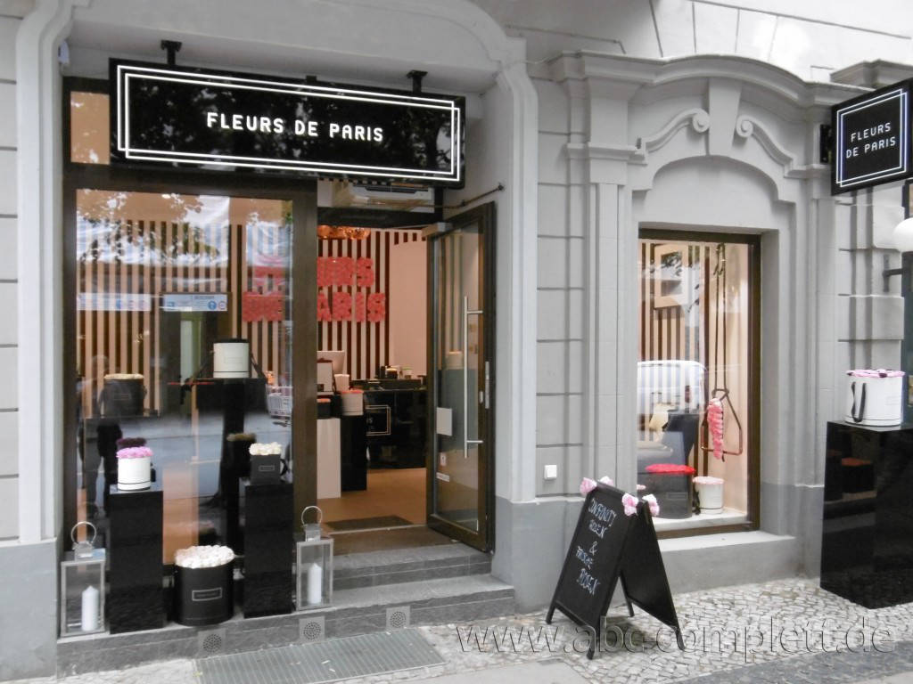 Ansicht des Geschäfts: Fleurs de Paris, Berlin / Charlottenburg, Foto 1