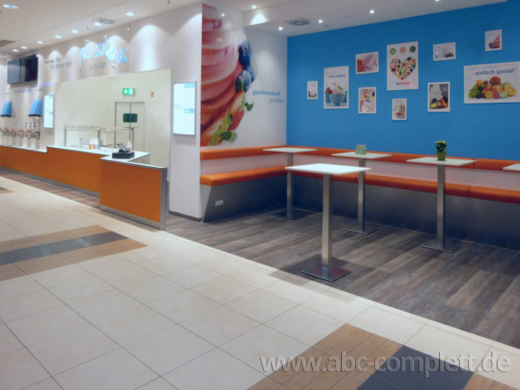 Ansicht des Geschäfts: Frozen Joe, Frozen Yogurt in Selbstbedienung, Wildau / A 10 Center, Foto 6