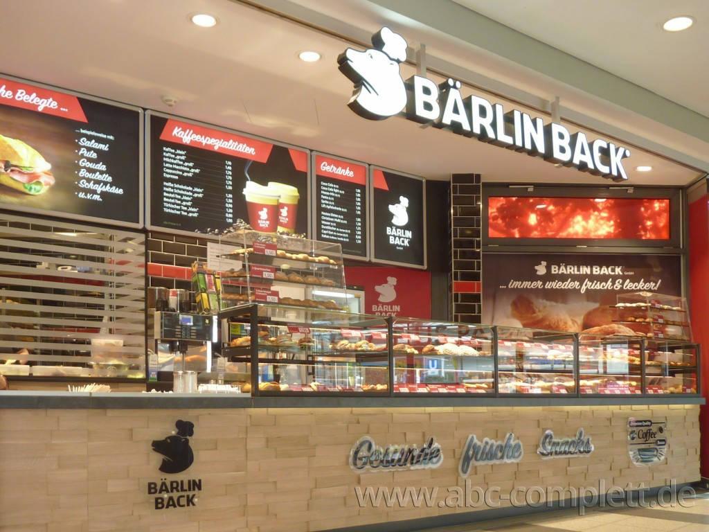 Ansicht des Geschäfts: Bärlin Back, Gropius Passagen - Design by conceptsmedia.de, Berlin / Neukölln, Foto 1
