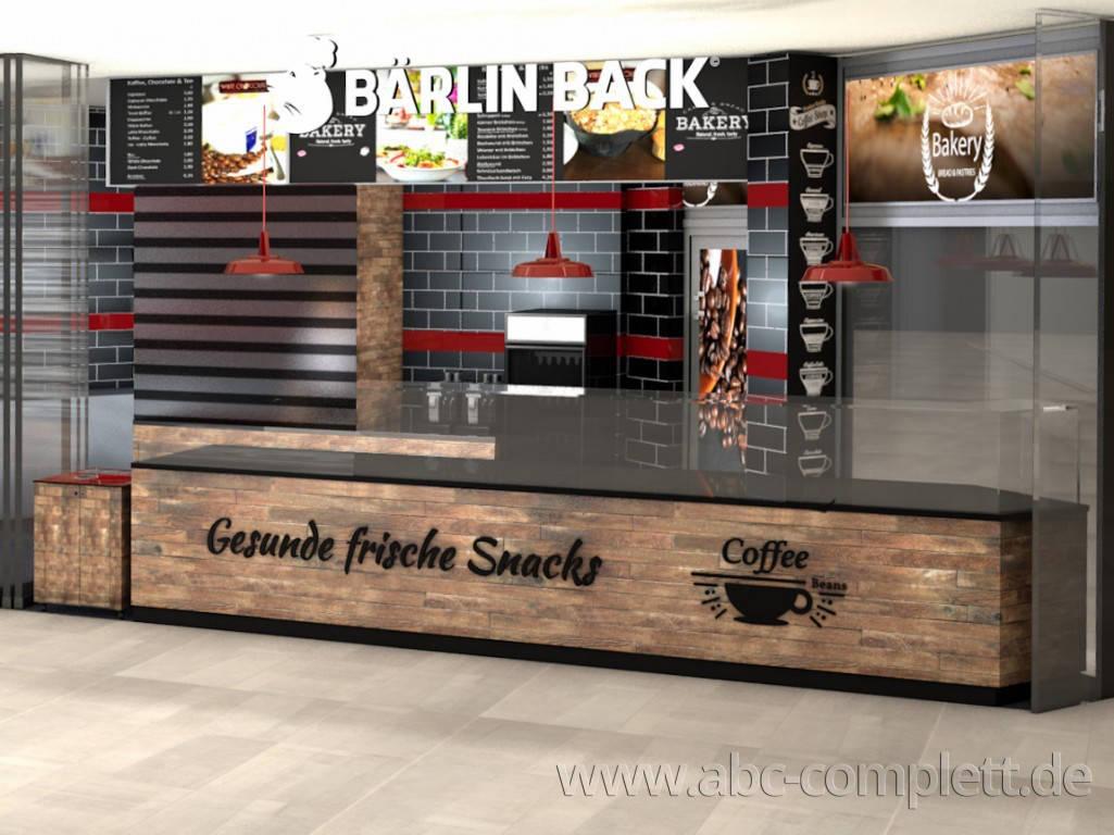Ansicht des Geschäfts: Bärlin Back, Gropius Passagen - Design by conceptsmedia.de, Berlin / Neukölln, Foto 2