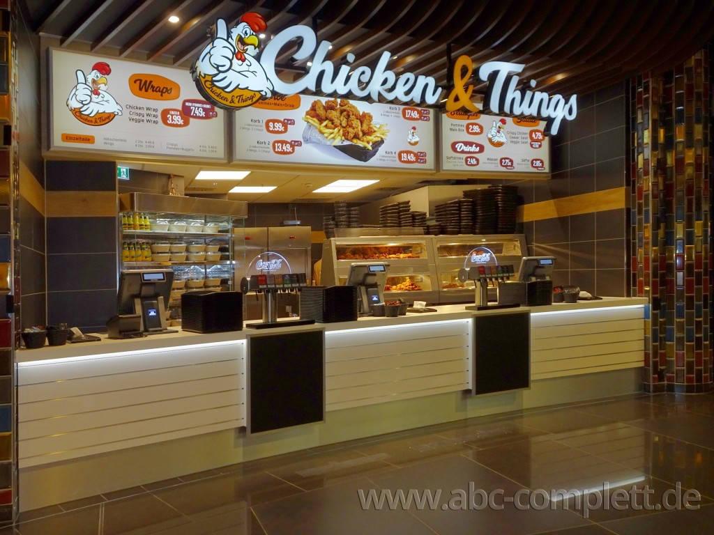 Ansicht des Geschäfts: Chicken & Things, Mall Of Berlin / Leipziger Platz 12, Berlin / Mitte, Foto 3