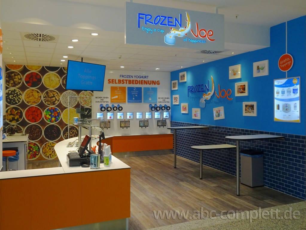 Ansicht des Geschäfts: Frozen Joe, Frozen Yogurt in Selbstbedienung, Berlin / Ring Center II, Foto 1