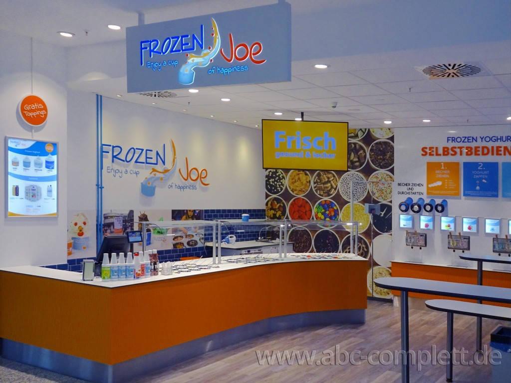 Ansicht des Geschäfts: Frozen Joe, Frozen Yogurt in Selbstbedienung, Berlin / Ring Center II, Foto 5