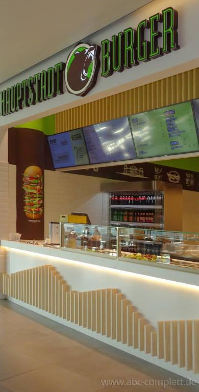 Ansicht des Geschäfts: Hauptstadt Burger, East Side Mall, Berlin / Friedrichshain, Foto 4