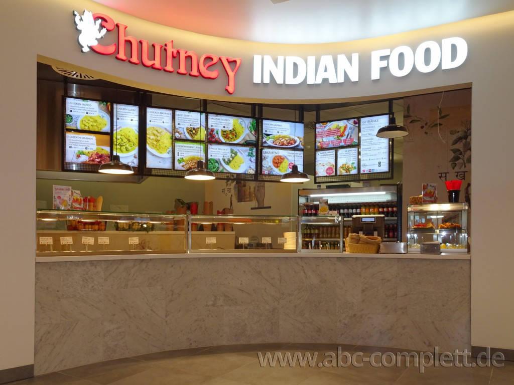 Ansicht des Geschäfts: Chutney Indian Food, East Side Mall, Berlin / Friedrichshain, Foto 1
