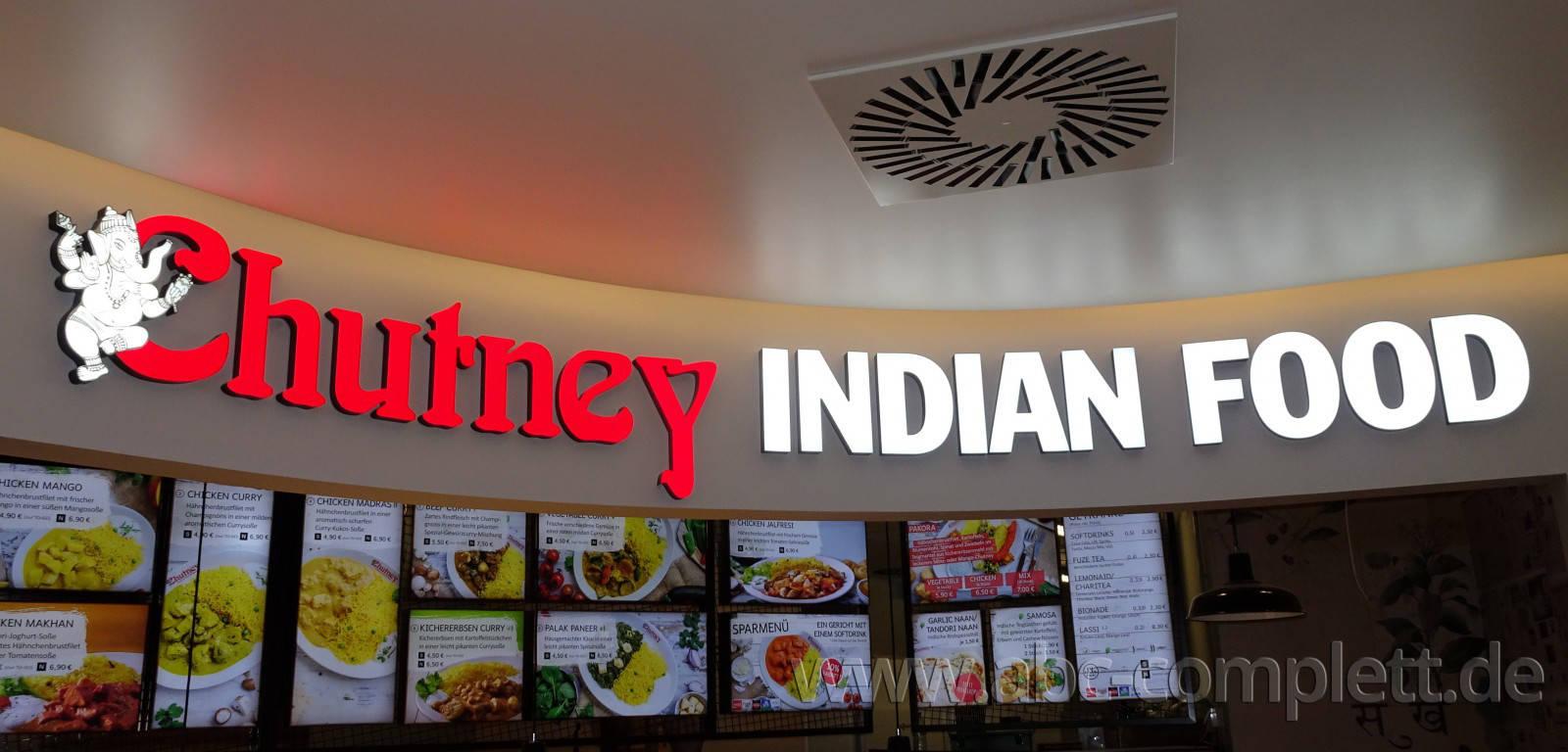 Ansicht des Geschäfts: Chutney Indian Food, East Side Mall, Berlin / Friedrichshain, Foto 2