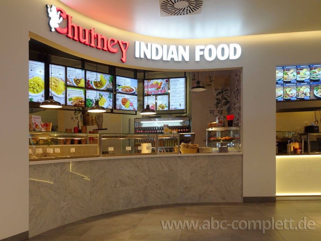 Ansicht des Geschäfts: Chutney Indian Food, East Side Mall, Berlin / Friedrichshain, Foto 3