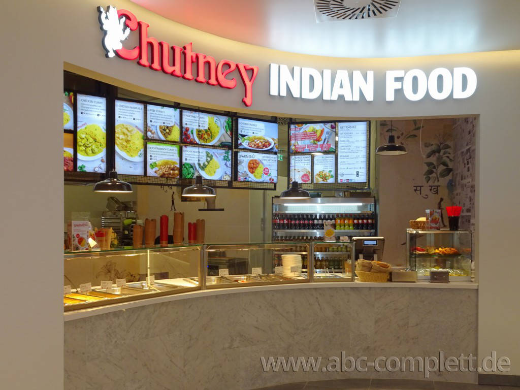 Ansicht des Geschäfts: Chutney Indian Food, East Side Mall, Berlin / Friedrichshain, Foto 4
