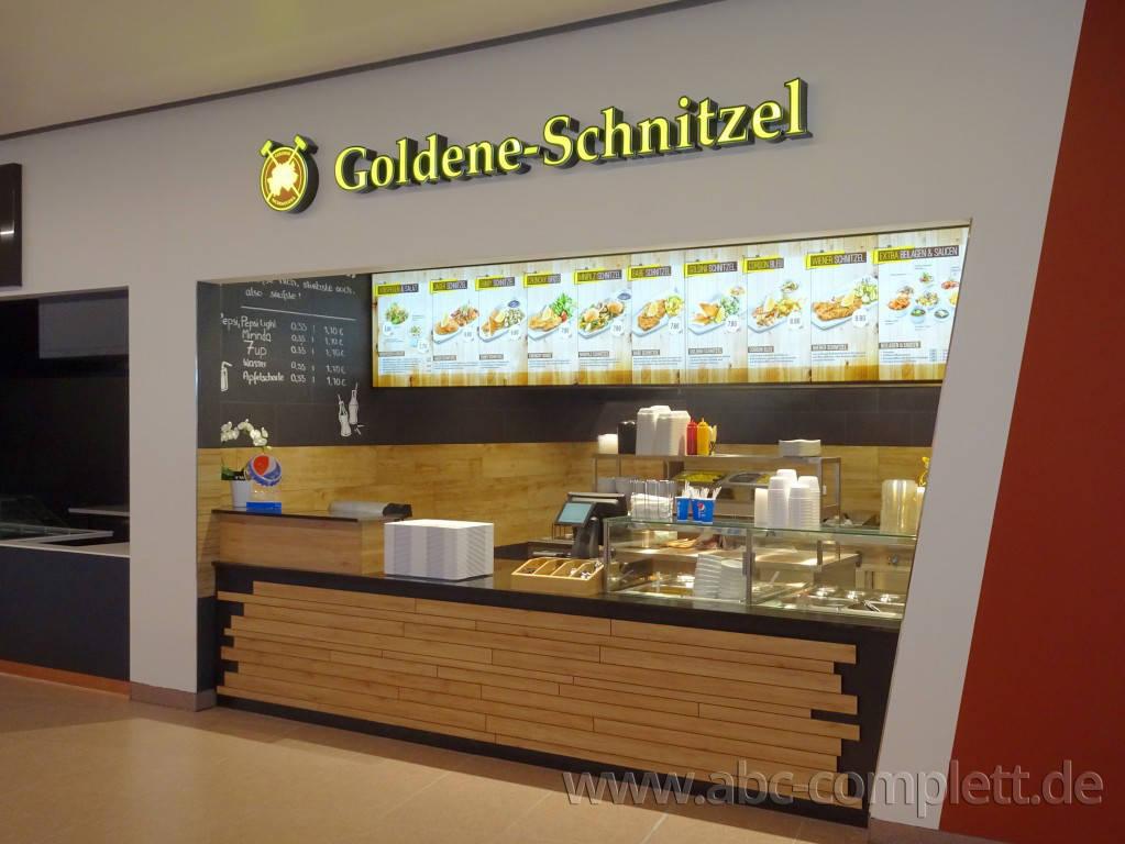 Ansicht des Geschäfts: Goldene Schnitzel, East Side Mall, Berlin / Friedrichshain, Foto 1