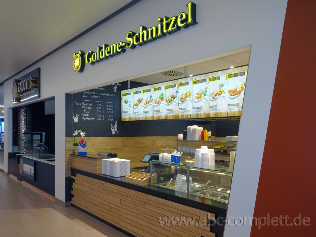 Ansicht des Geschäfts: Goldene Schnitzel, East Side Mall, Berlin / Friedrichshain, Foto 5