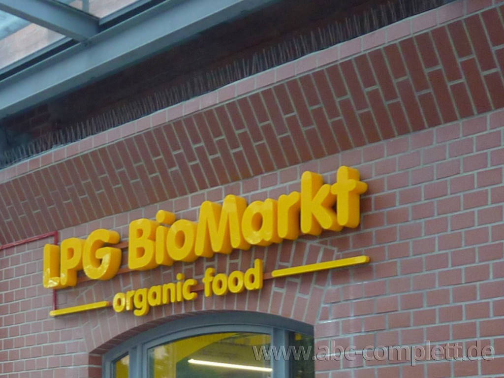 Ansicht des Geschäfts: LPG Biomarkt, lt. Referenzliste Bio Supermarkt, Berlin / diverse, Foto 12