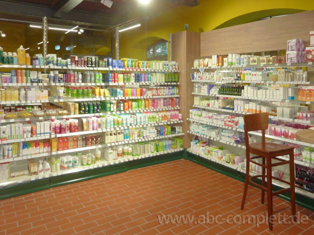 Ansicht des Geschäfts: LPG Biomarkt, lt. Referenzliste Bio Supermarkt, Berlin / diverse, Foto 9