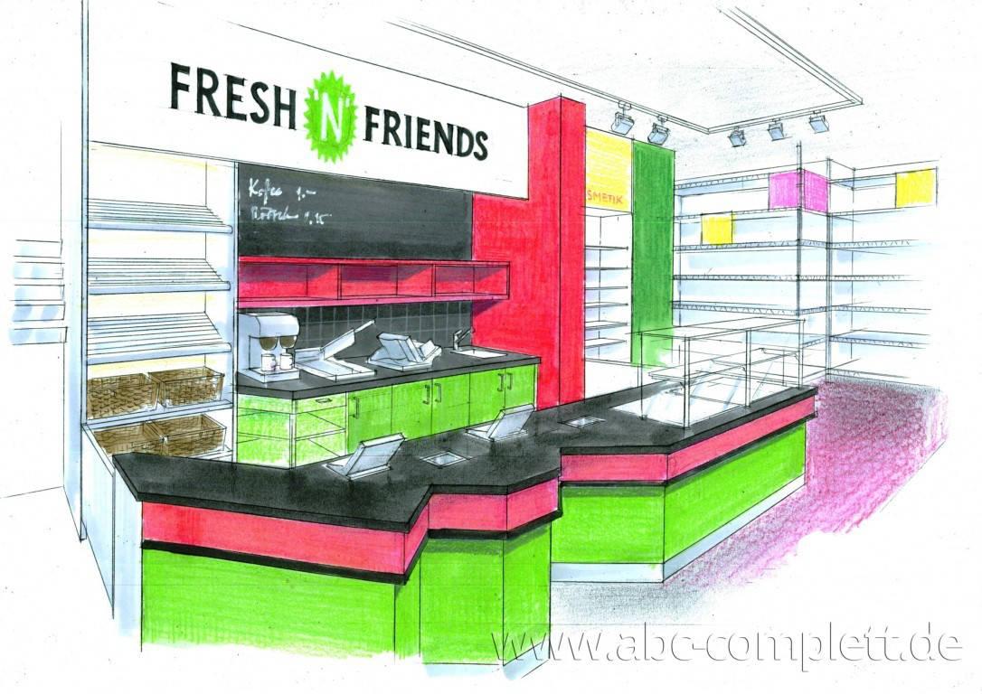 Ansicht des Geschäfts: Fresh N Friends, Berlin / Mitte