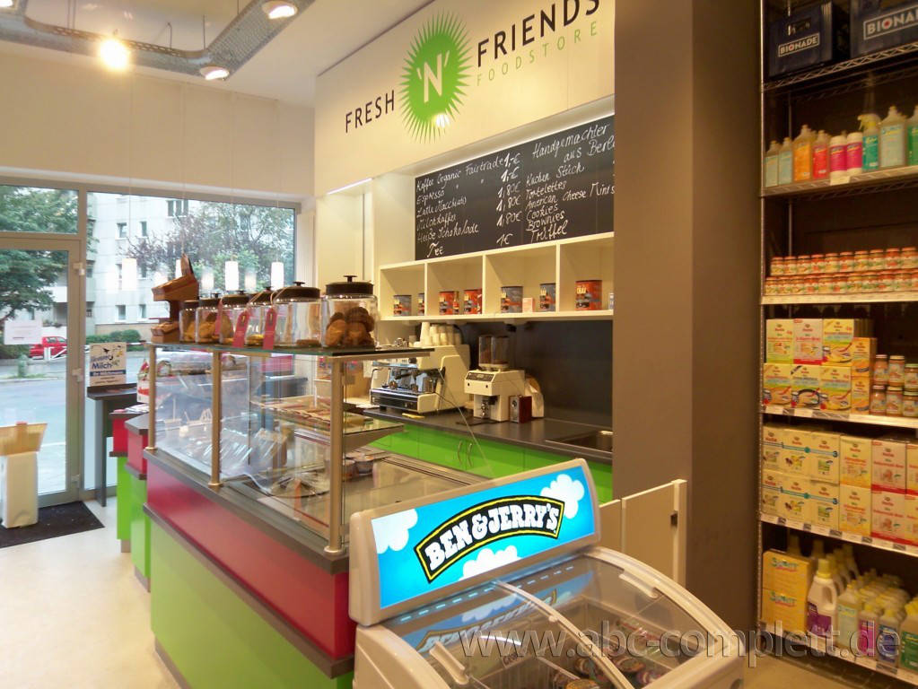 Ansicht des Geschäfts: Fresh N Friends, Berlin / Wilmersdorf, Foto 5